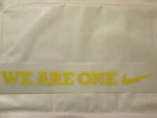 We Are One Barcelona Player Issue Patch for 2008-2010 Football Shirt Name Set
