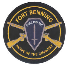 Large US Army Infantry - Fort Benning - Embroidered Patch - Ranger - Airborne