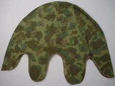 WW11 U.S.M.C CAMO REVERSIBLE HELMET COVER  - Reproduction (A-211)