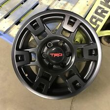 "SINGLE 1PC17X8 8"" EXTRA WIDE TRD PRO SEMA STYLE WHEELS PRERUNNER 4RUNNER TACOMA"