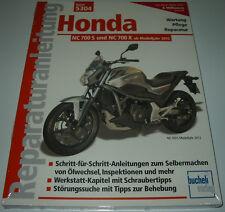 Reparaturanleitung Honda NC 700 S / NC 700 X ab Modelljahr 2012 Bucheli NEU!