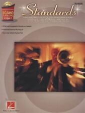 Standards Trombone Big Band Play-Along Volume 7 Music Book/CD 10 Arrangements