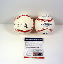 ELON MUSK SPACEX TESLA PAYPAL SIGNED AUTOGRAPH MLB BASEBALL PSA/DNA COA