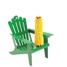 Great Green Adirondack Chair Corn Cob Squirrel Feeder