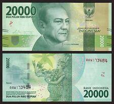 Indonesia  20000 Rupiah  2016  Pick New (1)  SC = UNC