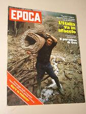 EPOCA=1977/1411=ALLUVIONI ITALIA ALFREDO POLLINI=LINDA BLAIR=ANGELIKA ZETHNER