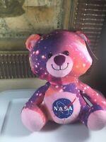 PINK BEAR-Fiesta Plush Stuffed Animal Universe Galaxy Space Stars Astronomy