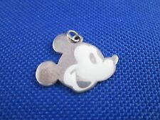 VINTAGE STERLING SILVER ENAMEL MICKEY MOUSE CHARM