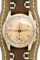 Vintage Telda Chronograph w/ Original Grained dial & Venus 170 Manual-Wind Mov't