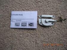 ((( PELLA )))  DOUBLE HUNG SASH LOCKS  COLOR WHITE    NEW    ODTJ6000    SEALED