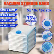 Vacuum Storage Bags Space Saver Seal Compressing Small Medium Jumbo Supersize