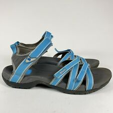 Teva Tirra Size 11 Sandal Blue Grey Sport Hiking Water Shoe 4266 Criss Cross