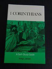 1 CORINTHIANS Self Study Guide 1972 Paperback Book NEW Jensen FREE SHIP Bible