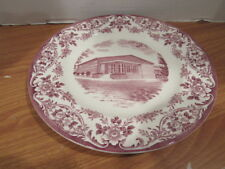The Gymnasium ~ Wedgwood Fairleigh Dickinson College Plate Rutherford Nj