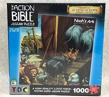 "The Action Bible Noah's Ark Jigsaw Puzzle 1000 Piece Poster Size 26"" New"