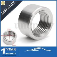 304 Stainless Steel Exhaust Weld-On Nut For Lambda Boss O2 Oxygen Sensor M18x1.5