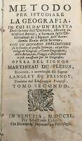 METODO per ISTUDIARE LA GEOGRAFIA VENEZIA 1740
