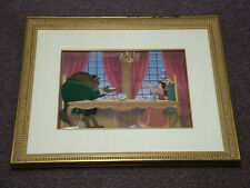 Disney: Beauty and the Beast - Limited Edition cel w/ COA - Breakfast For Two