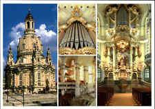 Kirchen Motiv-Ansichtskarte Kirche DRESDEN Sachsen Frauenkirche Mehrbildkarte