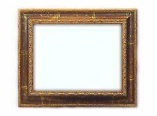 Cornice Classica in Legno - Interno 30x40 cm. - Quadro Oro Marrone