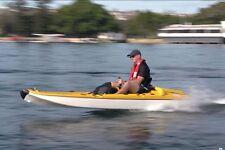 Aquanami JetANGLER kayak 15 PS engine, jet propulsion, 2 seats, TAX PAID FOR EU