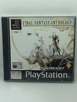 Final Fantasy Anthology IV & V - PS1 Sony Playstation One Game - PAL Complete
