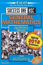 Excel Success One HSC - General Mathematics: 2012 by Pascal Press (Paperback,...