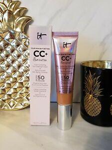 IT Cosmetic CC Cream Illumination 32ml RICH HONEY - NEW IN BOX