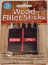 NEW Furniture Repair Wood Filler Sticks  Floor & Furniture Scratch Repair - 5 PC