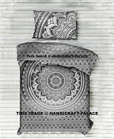 Indian Mandala Quilt Duvet Cover Bedding Cotton Single Size Doona Cover Bed Set