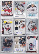 Columbus Blue Jackets 108 Lot Rookie Treasures Crown Prizm Auto Phenoms Limited