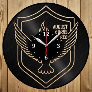 Vinyl Clock August Burns Red Vinyl Record Clock Handmade Original Gift 7018