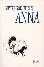 Mister God, This is Anna, Fynn, Very Good Book