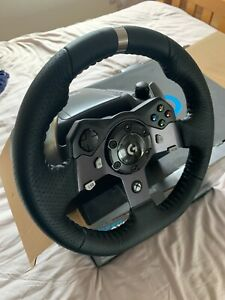 Logitech G920 Steering Wheel and Pedals for PC/Xbox - Black