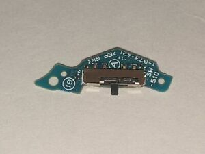 Sony PSP Playstation Portable 2001 Slim Silver Replacement On/Off Switch Board