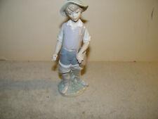 Llardo Figurine Boy Shepherd 8.5 in high