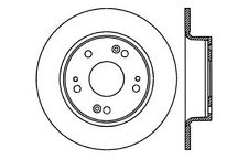 2 Disc Brake Rotor-C-Tek Standard Brake Rotors Centric 121.40055
