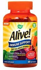 NATURE's Way Alive immune sostegno morbido Jell Multi-vitamin 60 SOFT jells