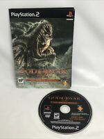 God of War: The Hydra Battle Demo Disc (Playstation 2 PS2) Tested Working