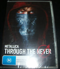 Metallica Through The Never (Australia All Region 4 PAL) DVD - New