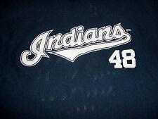 Cleveland Indians PRONK Jersey T-Shirt Travis Hafner #48 Promo Adult Size MEDIUM