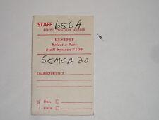 Swiza Semca balance staff 20 (ht.700) axe de balancier Unruhwelle BF 656A