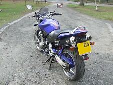 HONDA CB900 HORNET  Black round ROAD LEGAL Performance Motorbike Exhaust Can