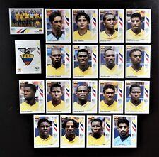 Panini FIFA World Cup Germany 2006 Complete Team Ecuador + Foil Badge