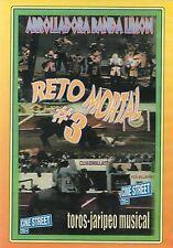 ARROLLADORA BANDA LIMON Reto Mortal #3 DVD Toros-Jaripeo Musical