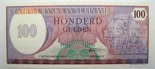 - Très beau billet - SURINAM - 100 Gulden - 1985 - Neuf -