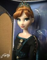 "2020 LIMITED EDITION Frozen 2 Queen Anna 17"" Doll LE 8000 NIB NWT"