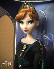 "2020 LIMITED EDITION Frozen 2 Queen Anna 17"" Doll LE 8000 NIB NWT"