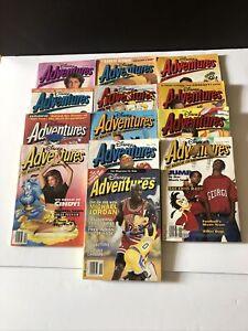 Lot Of Disney Adventures Magazines (13)