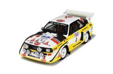 Audi Sport Quattro S1 HB Team Rallye RAC Lombard 1985 #4 Röhrl NEU 1:18 RAR